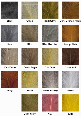 Crown Ultra Selected CDC feathers
