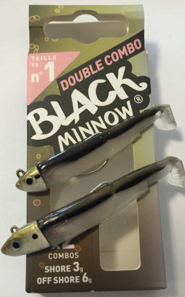 Fiiish Black Minnow N°1 Double combo