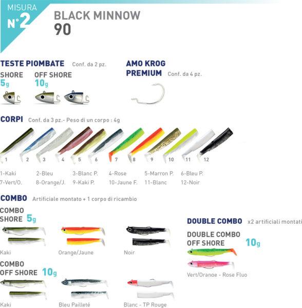 Fiiish Black Minnow N°2 corps