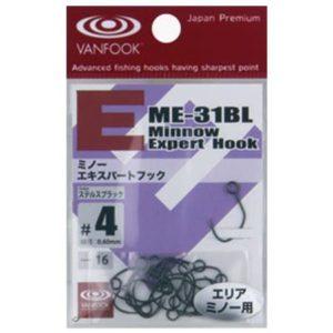 Vanfook ME-31BL Minnow expert Hook