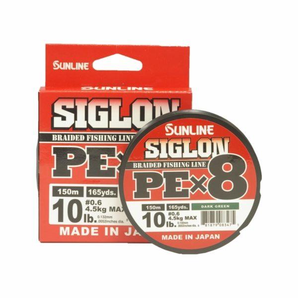 SUNLINE SIGLON PE X8 DARK GREEN 300 MT