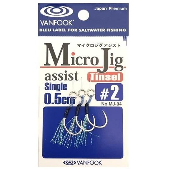 Vanfook Micro Jig Assist Tinsel