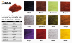 Crown Marabou Selected Quill