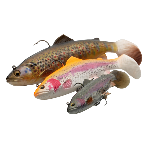 Savage Gear 4D Trout Rattle Shad