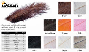 Crown Selected Ostrich Feathers
