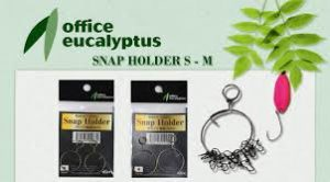 Office Eucalyptus Snap Holder