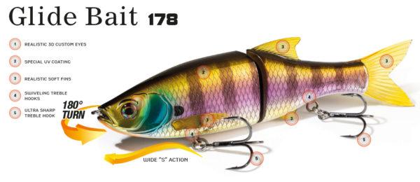 MOLIX GLIDE BAIT 178 SS