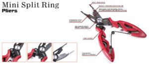 "Molix Mini Split Ring Pliers 5"""