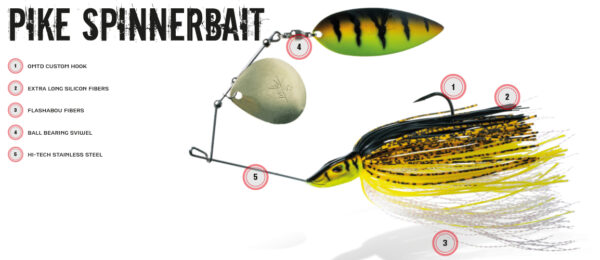 MOLIX PIKE SPINNERBAIT